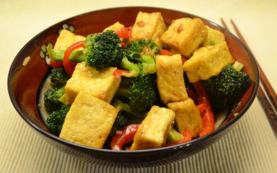 Broccoli Tofu Curry